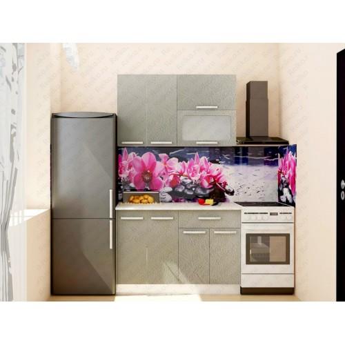 """Кухня """"Марина"""" 1,2м Бетон серый"""