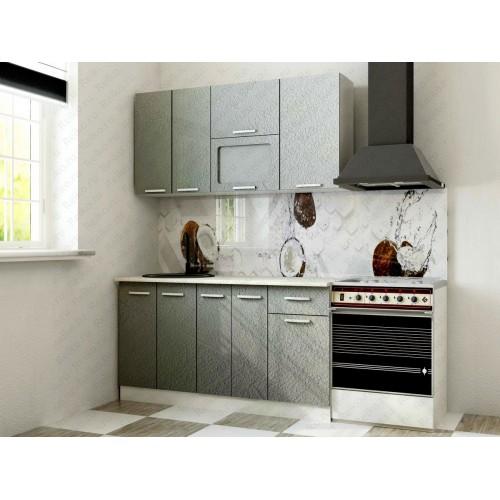 """Кухня """"Марина"""" 1,5м Бетон серый"""