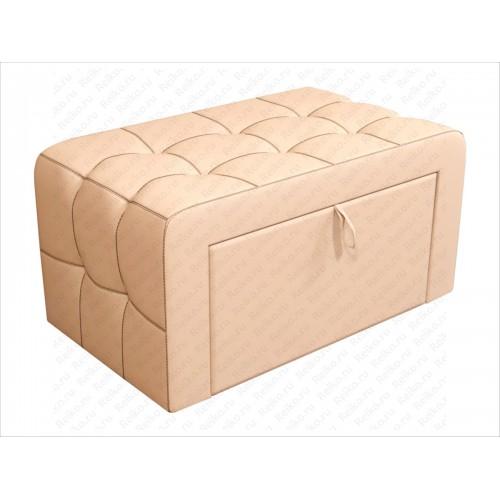 Пуф мягкий с ящиком