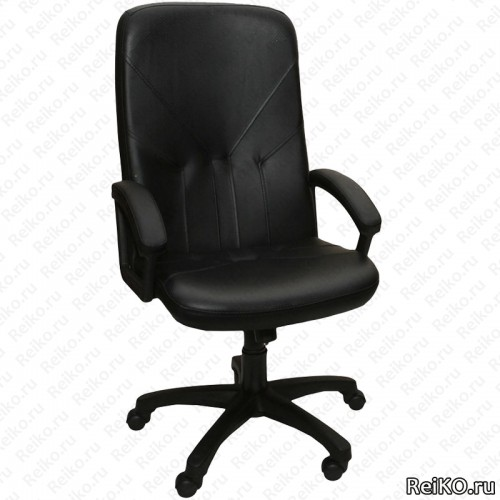 """Кресло """"Фортуна 2"""" черный кожзам"""
