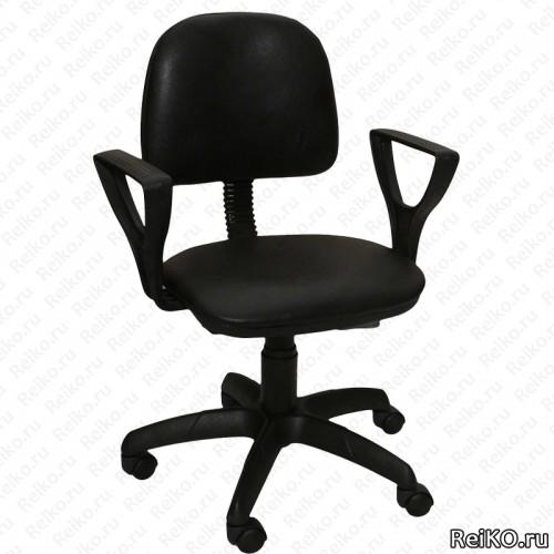 """Кресло """"Форум 2"""" черный кожзам"""