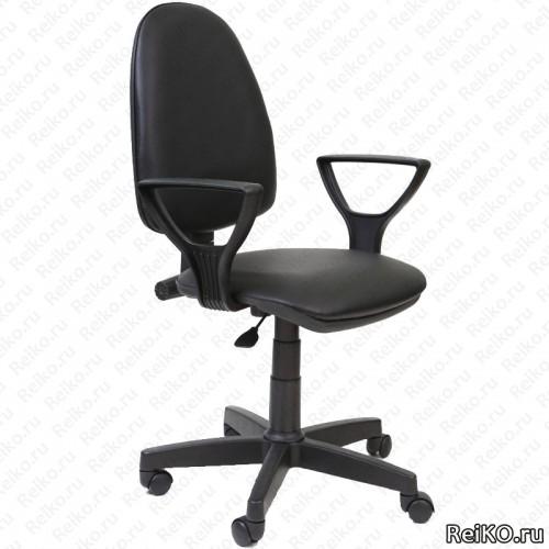 """Кресло """"Поло"""" черный кожзам"""